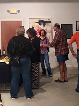 Influences Exhibit Opening: New Art Group