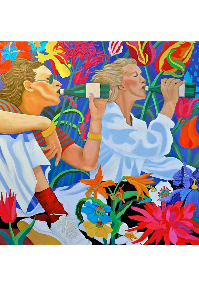 Flora Dora, Jane Caminos, Oil