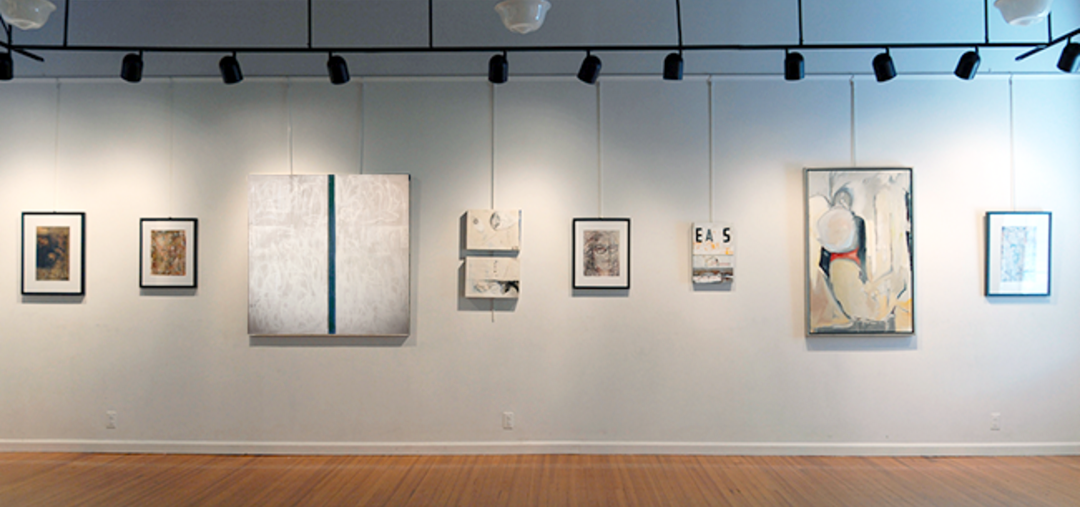 new art group: letters exhibit installation view